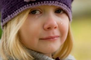 Vaiko nuoskaudos ašaros - maginis negatyvas