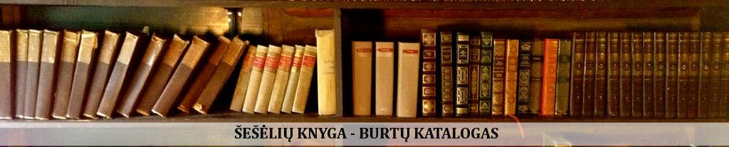 Šešėlių knyga - burtų katalogas